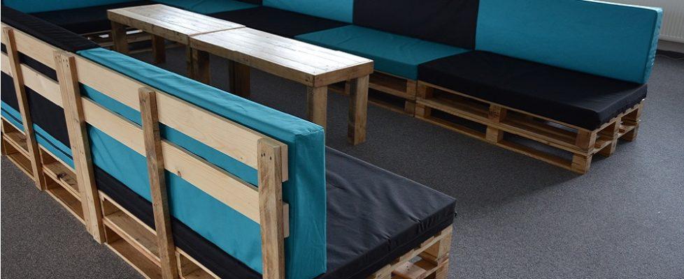 Paletový gauč – maxi