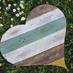 drevene srdce